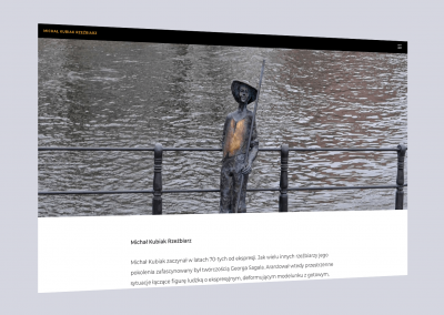 webseite michal kubiak rzezbiarz