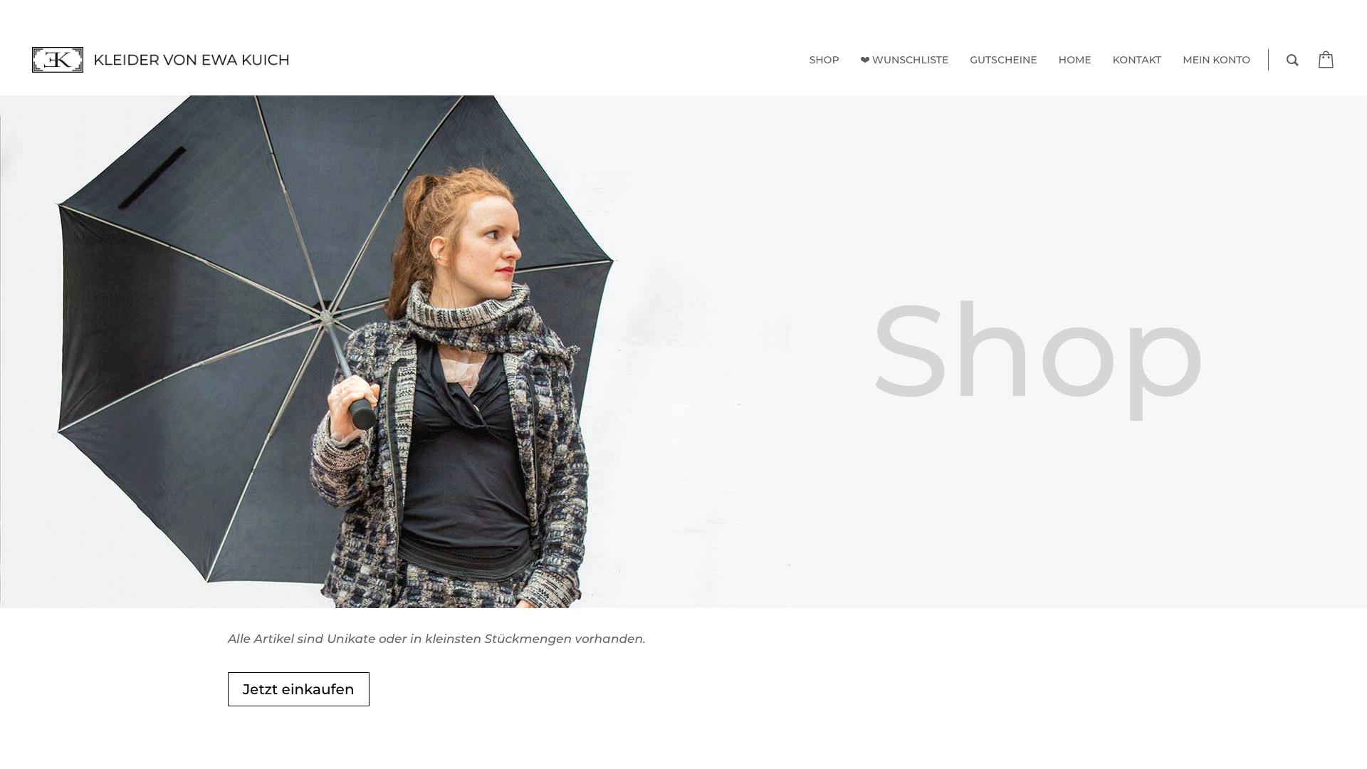 Online Shop Kleider von Ewa Kuich