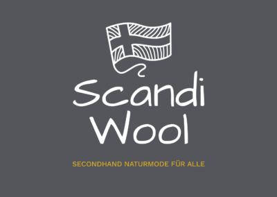 Logo Scandi Wool Secondhand Naturmode für alle